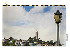 View Of Telegraph Hill Neighborhood San Francisco Carry-all Pouch