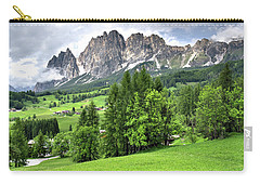 View Of The Dolomites Carry-all Pouch