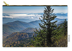 View Of The Great Smoky Mountains Carry-all Pouch
