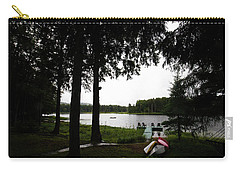 Carry-all Pouch featuring the photograph View Of The Pond by David Patterson
