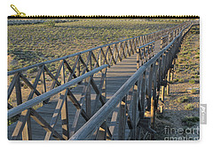 View Of The Wooden Bridge In Quinta Do Lago Carry-all Pouch by Angelo DeVal