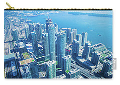 View Of Toronto Waterfront From Cn Tower Carry-all Pouch