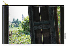 View On The Campanile Carry-all Pouch by Helga Novelli