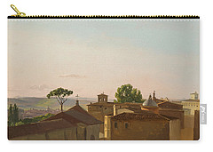 View On The Quirinal Hill. Rome Carry-all Pouch by Simon Denis