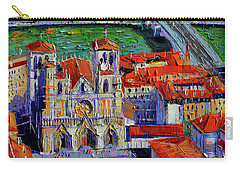View Over Cathedral Saint Jean Lyon Carry-all Pouch