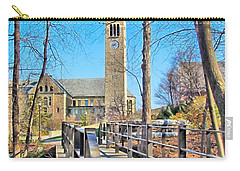 View To Mcgraw Tower Carry-all Pouch