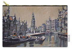 View To The Mint Tower Amsterdam Carry-all Pouch by Nop Briex