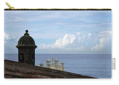 View To The Sea From El Morro Carry-all Pouch by Lois Lepisto