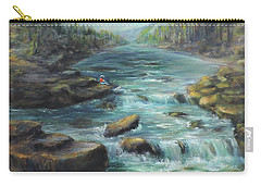 Viewing The Rapids Carry-all Pouch