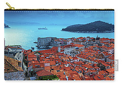 Views Of Dubrovnik, The Port And The Adriatic Sea Carry-all Pouch