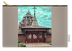 views of Holy gates and Church of the Intercession of the blessed virgin Mary Carry-all Pouch