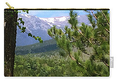Views Of Katahdin Carry-all Pouch by Robin Regan