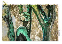 Vigeland Boy In Tree Fountain Carry-all Pouch