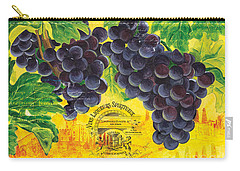 Vigne De Raisins Carry-all Pouch by Debbie DeWitt