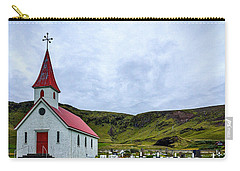 Vik Church And Cemetery - Iceland Carry-all Pouch