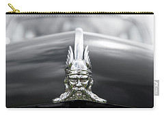 Viking Hood Ornament II Carry-all Pouch by Helen Northcott