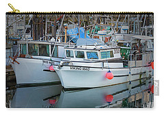 Carry-all Pouch featuring the photograph Viking Maid by Randy Hall