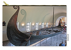 Viking Ship Carry-all Pouch by Allan Levin