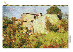 Villa With Roses Carry-all Pouch