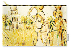 Village Girls Punjab  Carry-all Pouch