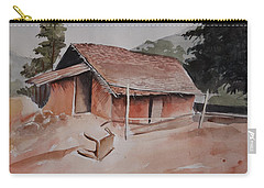 Village Hut Carry-all Pouch