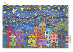 Village Lights Carry-all Pouch