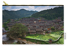 Village Of Joy Carry-all Pouch