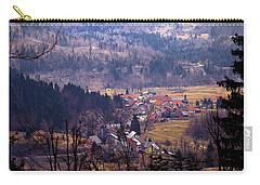 Village Of Lokve In Gorski Kotar  Carry-all Pouch