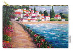 Villas By The Sea Carry-all Pouch