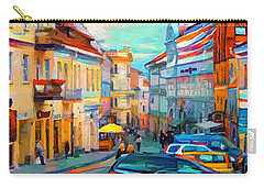 Vilnius At Paint Carry-all Pouch
