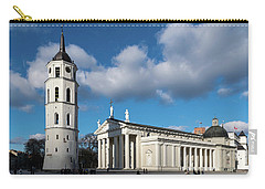 Vilnius Bell Tower And Cathedral Carry-all Pouch