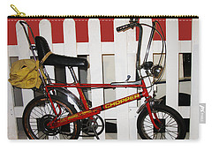 Vintage 1970s Bike With Rucksack  Carry-all Pouch