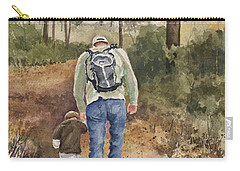 Vince And Sam Carry-all Pouch by Sam Sidders