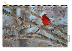 Carry-all Pouch featuring the mixed media Vincent by Trish Tritz