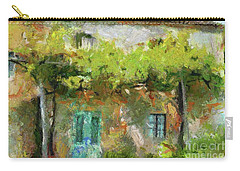 Vine Pergola Carry-all Pouch by Dragica Micki Fortuna