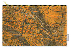 Vine Wood Abstract Carry-all Pouch