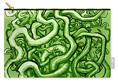 Vines Of Green Carry-all Pouch