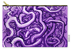 Vines Of Purple Carry-all Pouch