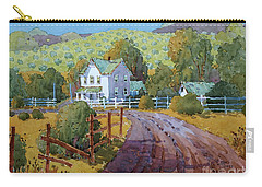 Vineyard Farm In Cambria Carry-all Pouch