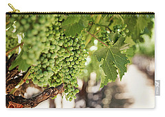 Carry-all Pouch featuring the photograph Wine Vineyard Of St. Helena - Grapevine Napa Valley Photography by Melanie Alexandra Price