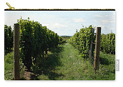 Vineyard On The Peninsula Carry-all Pouch by Michelle Calkins