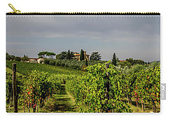 Carry-all Pouch featuring the photograph Vineyard View by Jean Haynes
