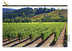 Vineyards In Sonoma County Carry-all Pouch