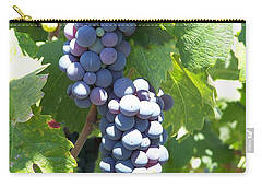 Vino On The Way Carry-all Pouch
