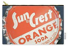 Vintag Bottle Cap, Sun Crest Carry-all Pouch