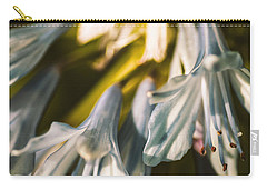 Vintage Agapanthus Flower Carry-all Pouch by Jorgo Photography - Wall Art Gallery