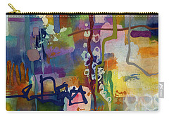 Carry-all Pouch featuring the painting Vintage Atelier 2 by Hailey E Herrera