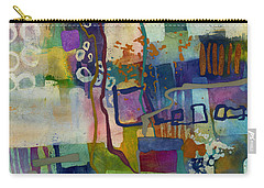 Carry-all Pouch featuring the painting Vintage Atelier by Hailey E Herrera