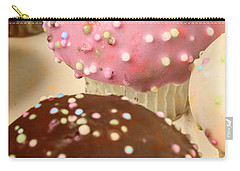 Vintage Bakery Scene Carry-all Pouch