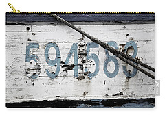 Vintage Boat Number Carry-all Pouch